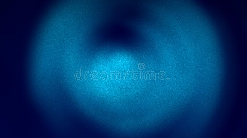 Colorful abstract navy blue blue blurred color mixture effects with rough dry textured  Background. Colorful abstract black blue blurred color mixture effects royalty free illustration