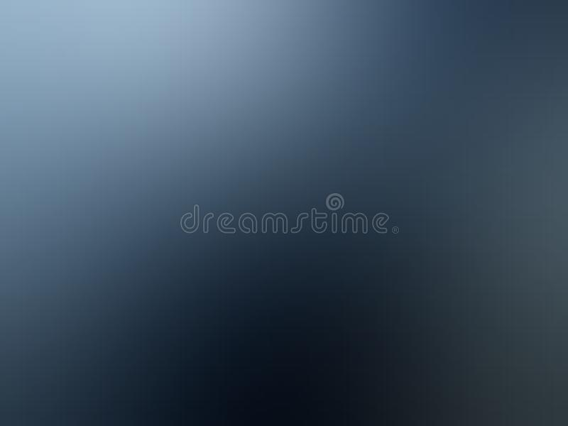 Blue and grey shaded abstract blur background wallpaper, vector illustration. stock images