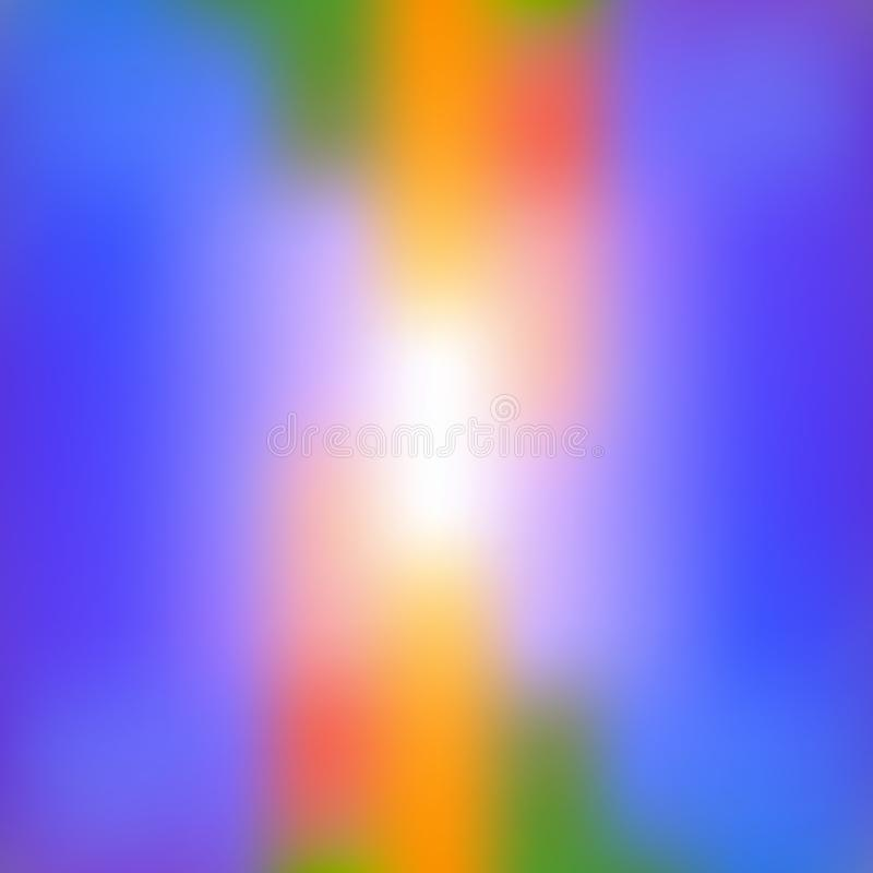 Colorful abstract bright blurred background in vibrant colors. Decorative design texture. Colorful abstract bright blurred background in vibrant colors stock illustration
