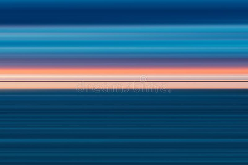 Colorful abstract bright lines background, horizontal striped texture in pink and blue tones. Pattern for web-design, website, presentations, invitations royalty free illustration