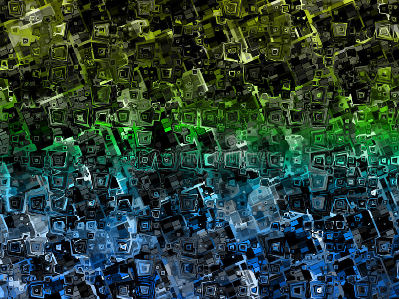 Colorful abstract distorted squares background texture. Colorful abstract distorted squares background vector illustration