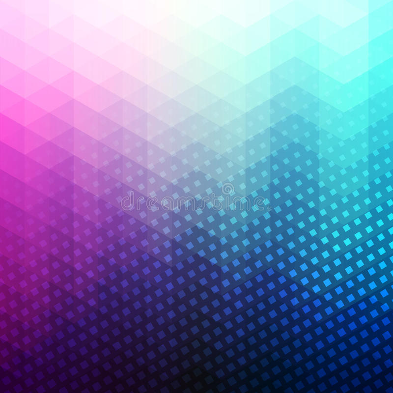 Free Colorful Abstract Geometric Vector Background Royalty Free Stock Photos - 58676858