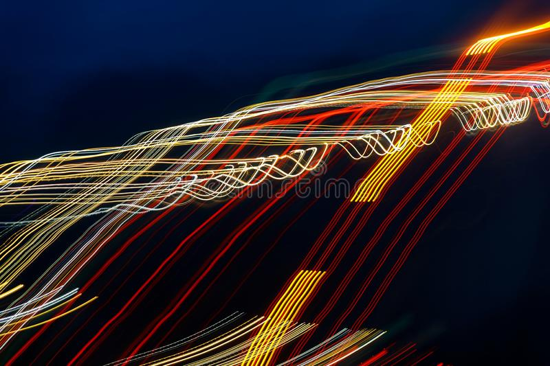 Colorful abstract background of lasers rays stock photos