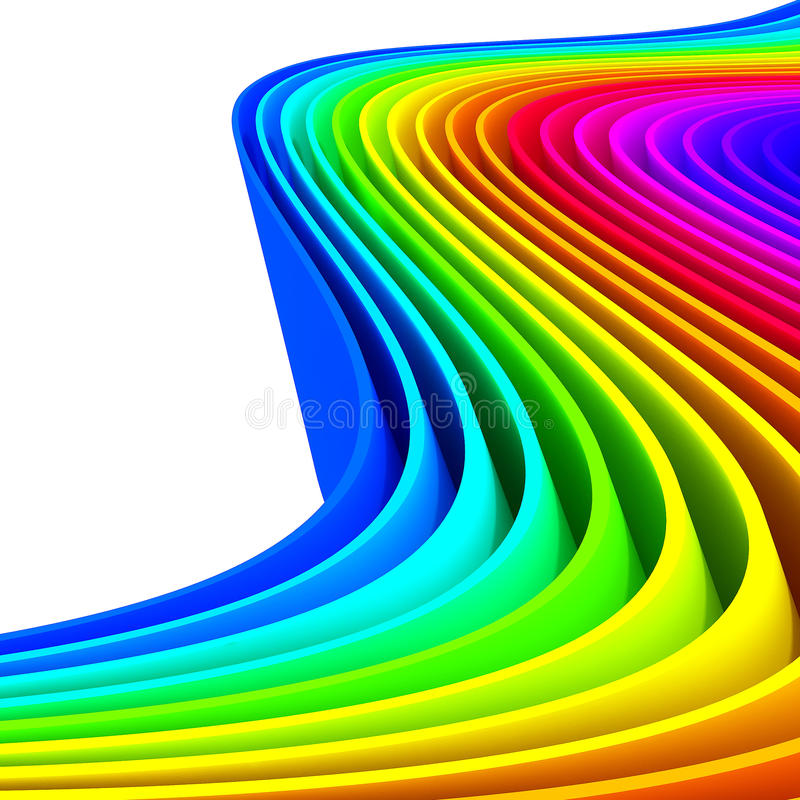 Download Colorful Abstract Lines For Background Stock Illustration - Image: 25637953