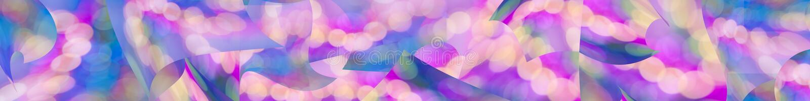 Download Colorful Abstract Panorama Web Banner Background Stock Illustration - Image: 12962551