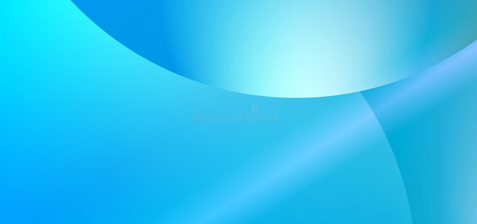 Colorful abstract sky blue color stripes eclipse reflected blurred Background. Many uses for advertising, book page, paintings, printing, mobile wallpaper royalty free illustration