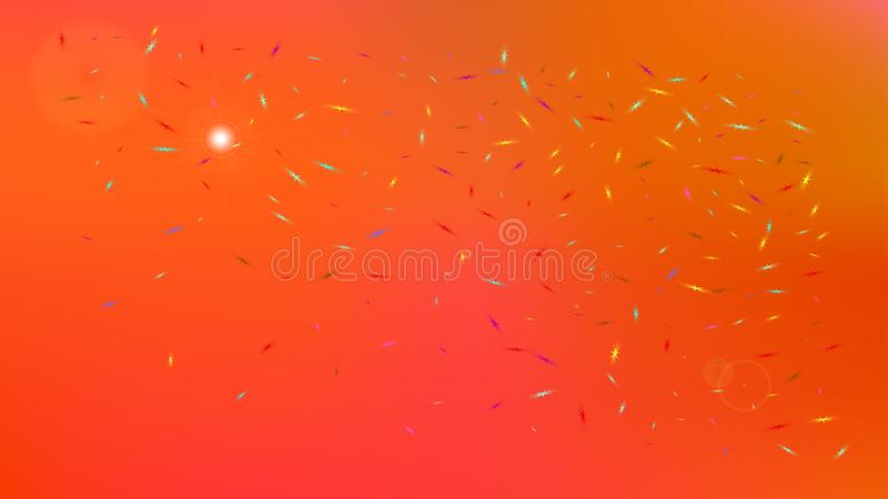 Colorful abstract space background picture bright. royalty free illustration