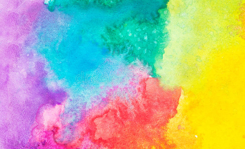 Colorful abstract watercolor background. Texture vector illustration