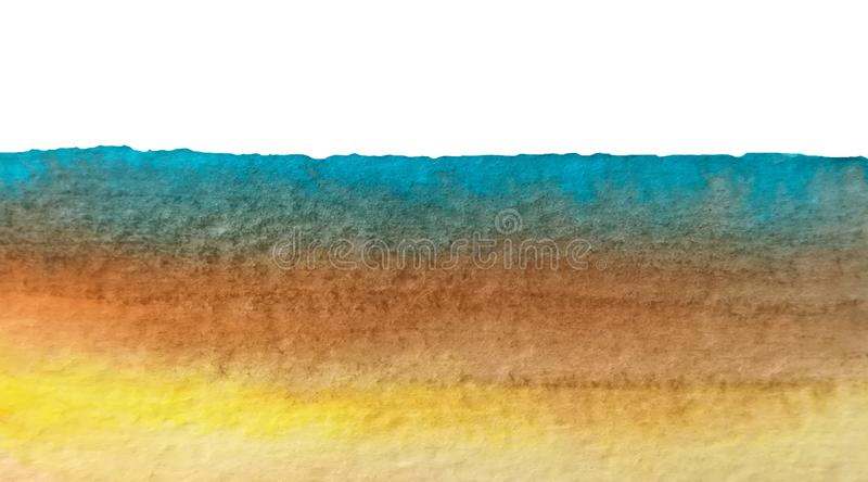 colorful abstract watercolor texture background vector illustration