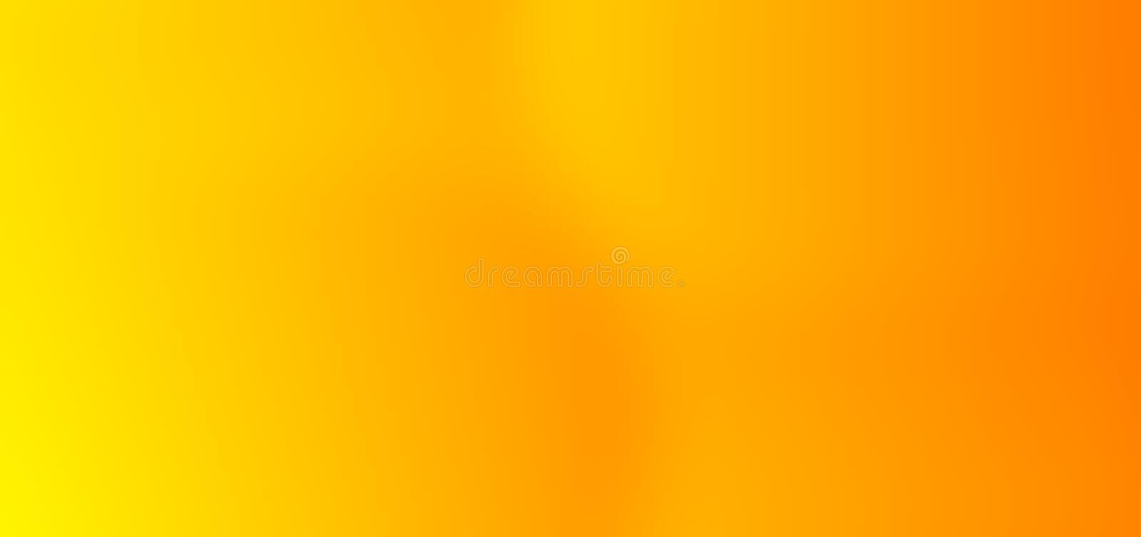 Colorful abstract yellow with orange multi colors blurred shaded Background. stock photography