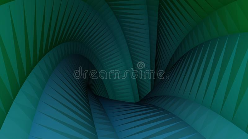 Colorful abstraction of polygonal background - 3d tunnel motion graphics animation new quality. Animation. Computer vector illustration