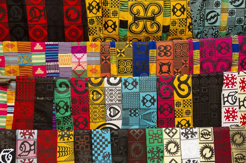 African fashion clothes royalty free stock photos