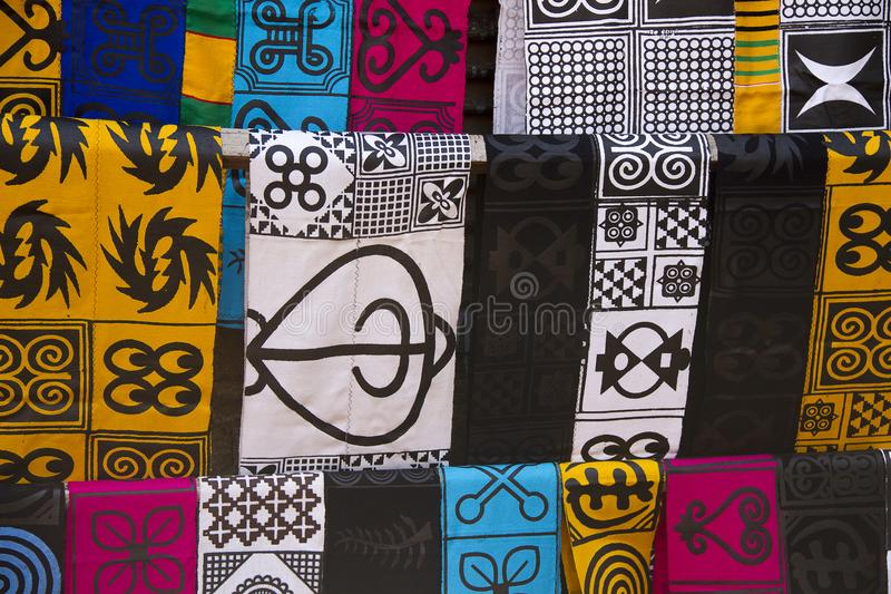 African fashion clothes royalty free stock image