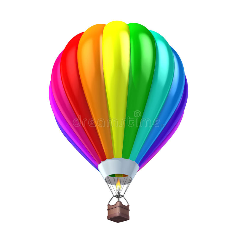 Download Colorful Air Balloon 3d Illustration Stock Illustration - Image: 23116484