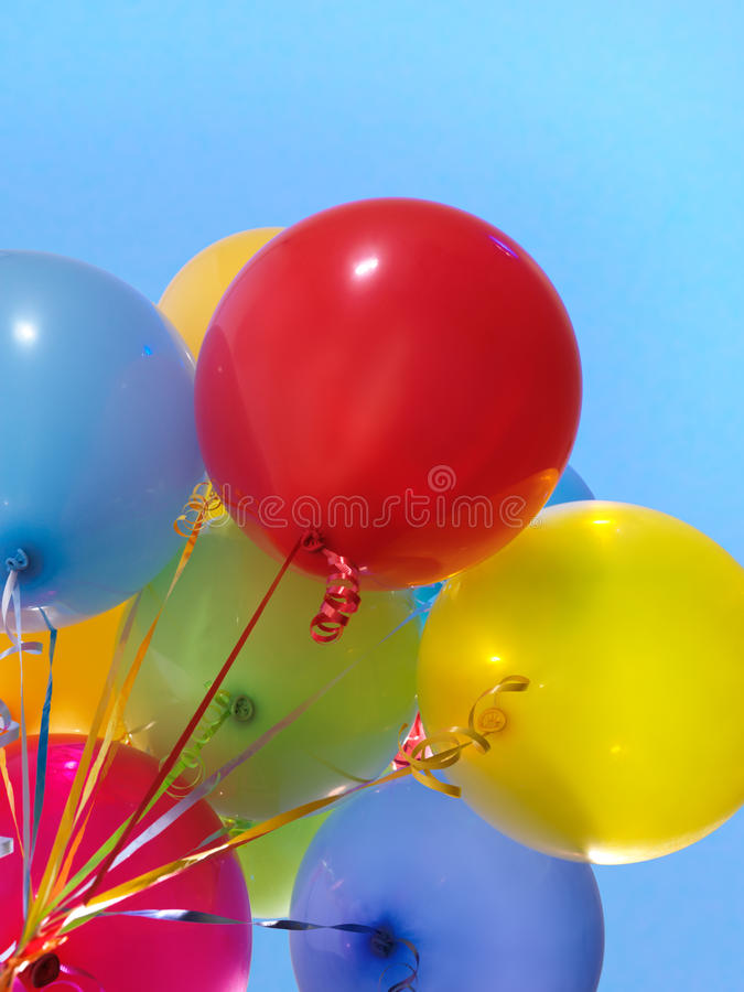Colorful Air Balloons Stock Photos