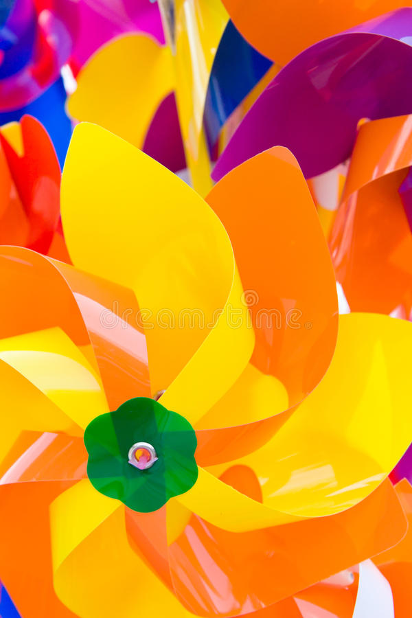 Colorful airscrew royalty free stock image