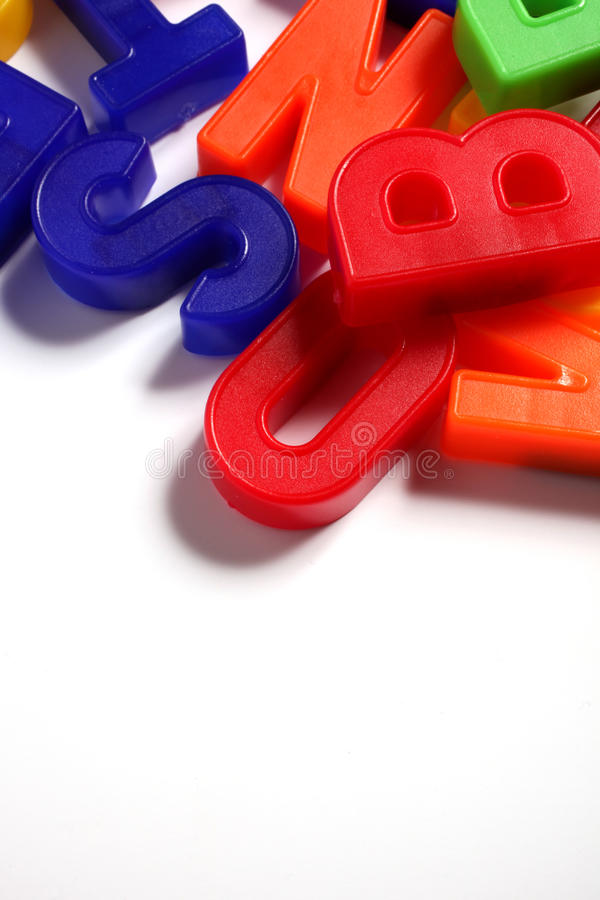 Colorful Alphabet Stock Photography