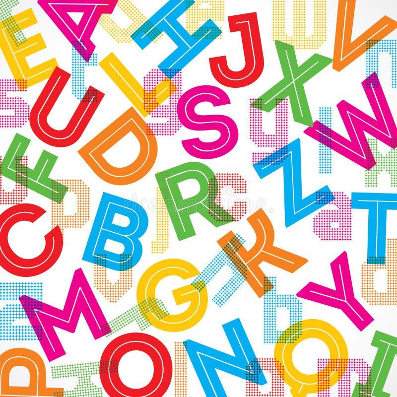 Colorful Alphabet Background Stock Vector - Illustration ... Aands Alphabet Wallpapers Download