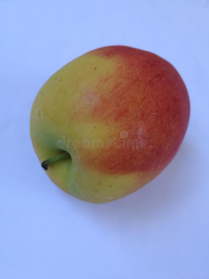 Colorful apple stock images