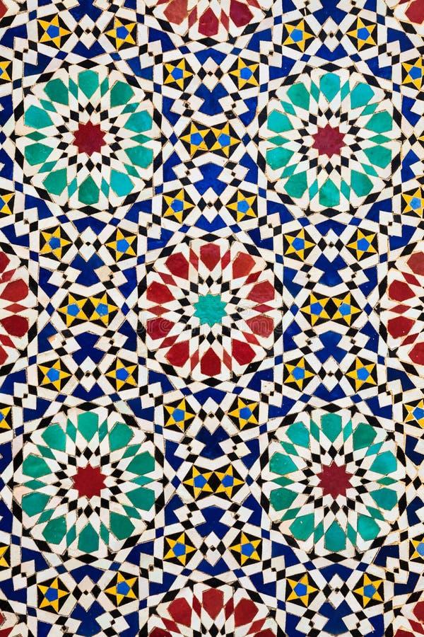 Colorful Arabic Mosaics Stock Photo Image Of Geometrical