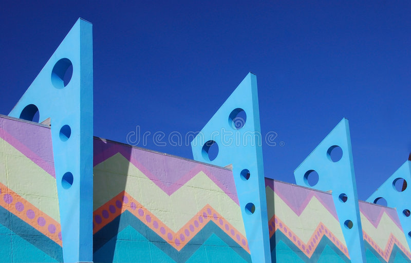 Colorful Architecture royalty free stock image