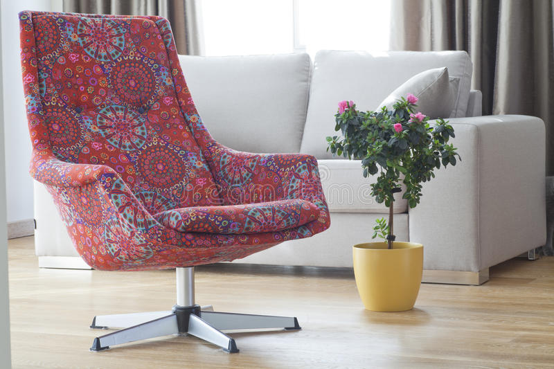 Download Colorful Armchair Stock Image. Image Of Azalea, Rest   38955015