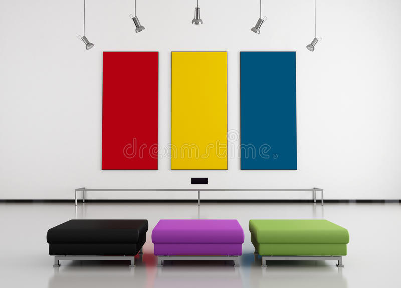 Download Colorful Art Gallery Royalty Free Stock Photography - Image: 22142527