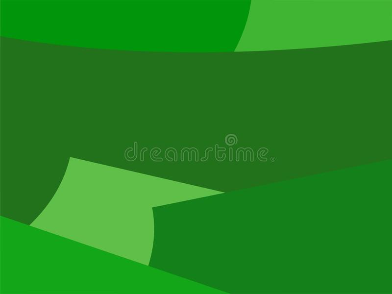 Colorful Art Green, Abstract Modern Shape Background or Wallpaper. This is my design about Colorful Wallpaper and I hope you like it. With title : Colorful Art stock illustration