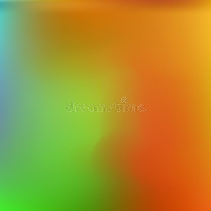 Colorful attractive background for electronic devices. Vector illustration presentation. Trendy splash and spreading spot. Orange colorful background for stock illustration
