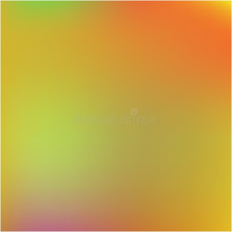 Colorful attractive background for electronic devices. Vector illustration space. Strange splash and spreading spot. Orange colorful background for modern stock illustration