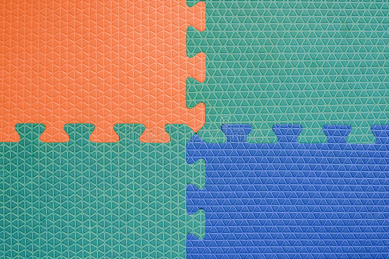 Colorful Baby Mat Rubber Foam For Childhood Background