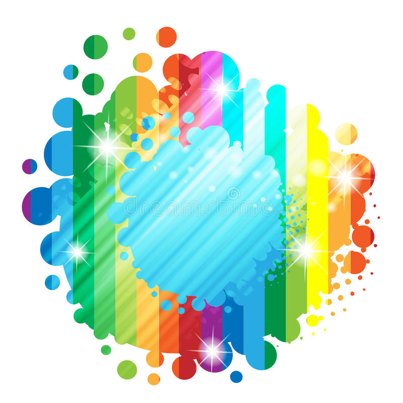 Colorful background vector illustration
