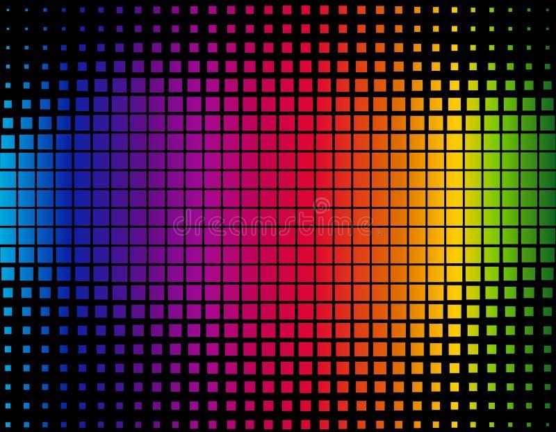 Colorful background stock illustration