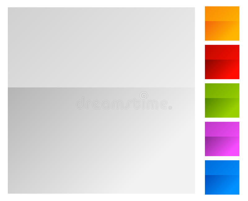 Colorful background with bright, colorful gradients. Colorful stock illustration