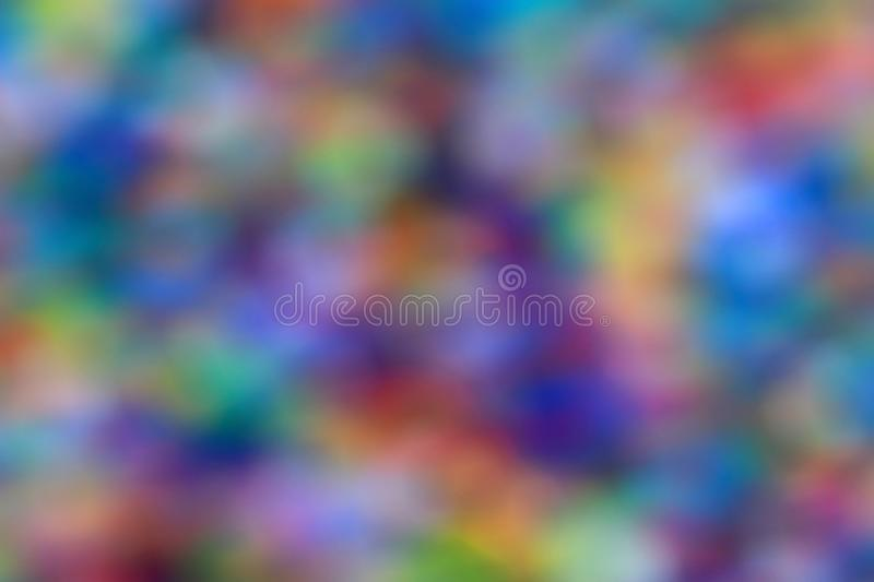 Colorful background image in mosaic form in various colors as a background in dark colors stock images