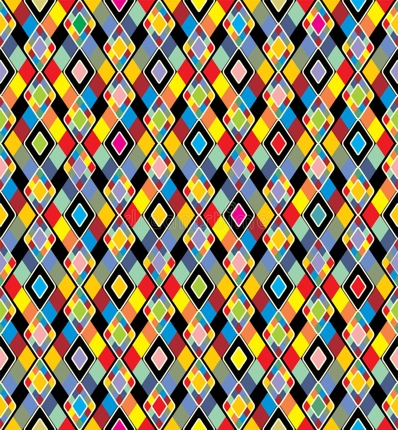 Colorful background. Seamless pattern. royalty free illustration