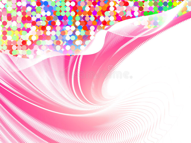 Colorful background, vector. Colorful abstract background from mosaic tiles, vector without gradient stock illustration