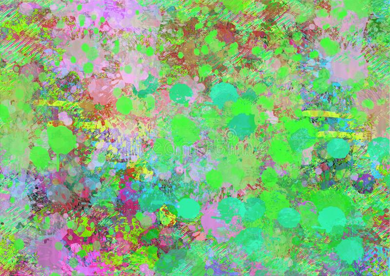 Colorful backgrounds for design illustration. Splashes Of Color. Images for Colorful backgrounds for design illustration Abstract colorful background downloads stock illustration