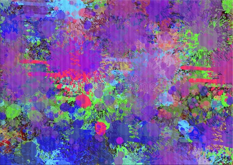 Colorful backgrounds for design illustration. Splashes Of Color. Images for Colorful backgrounds for design illustration Abstract colorful background downloads vector illustration