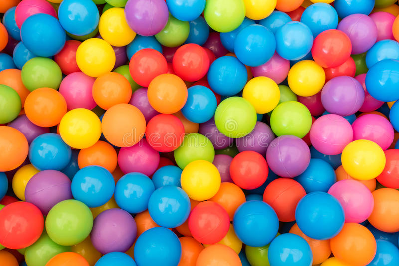 Colorful Ball Pit stock photos