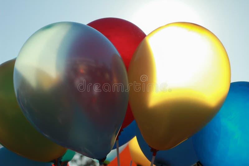 Colorful ballons stock image