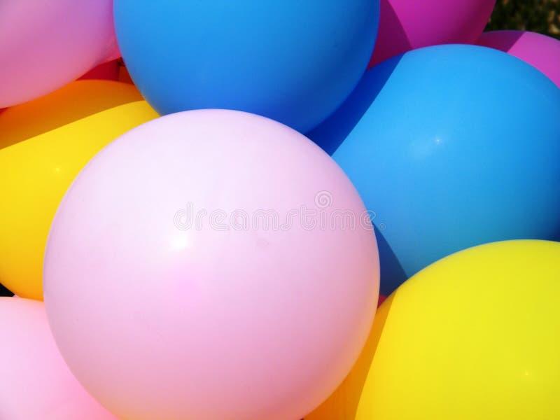 Colorful balloon royalty free stock photos