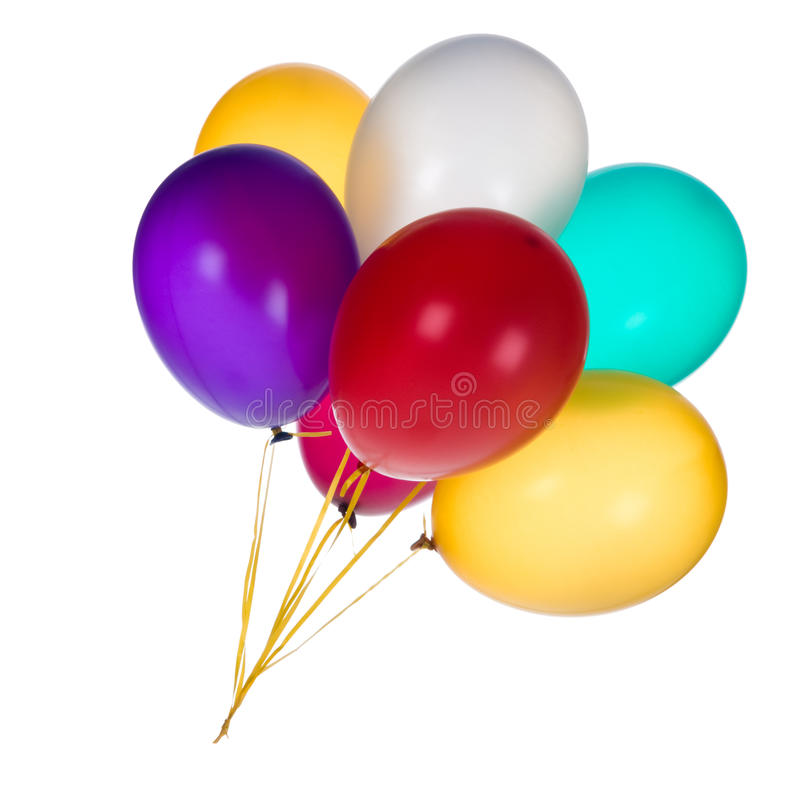 Download Colorful Balloons stock photo. Image of helium, isolated - 15664074
