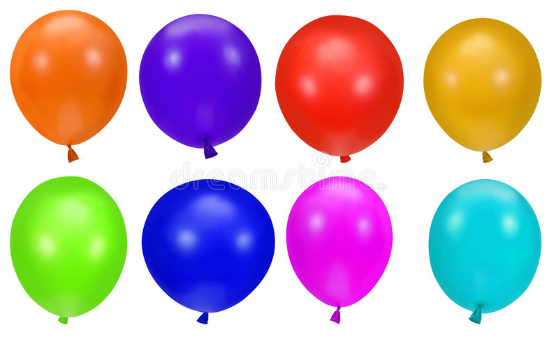Download Colorful balloons stock photo. Image of celebrate, birthday - 3343768