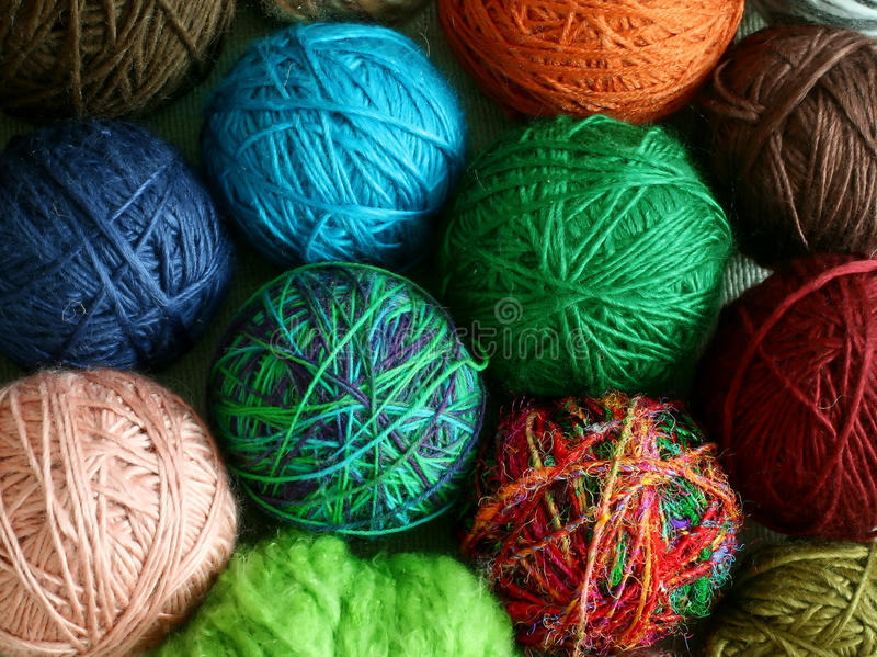 Download Colorful Balls From Wool - Background Royalty Free Stock Image - Image: 22447186