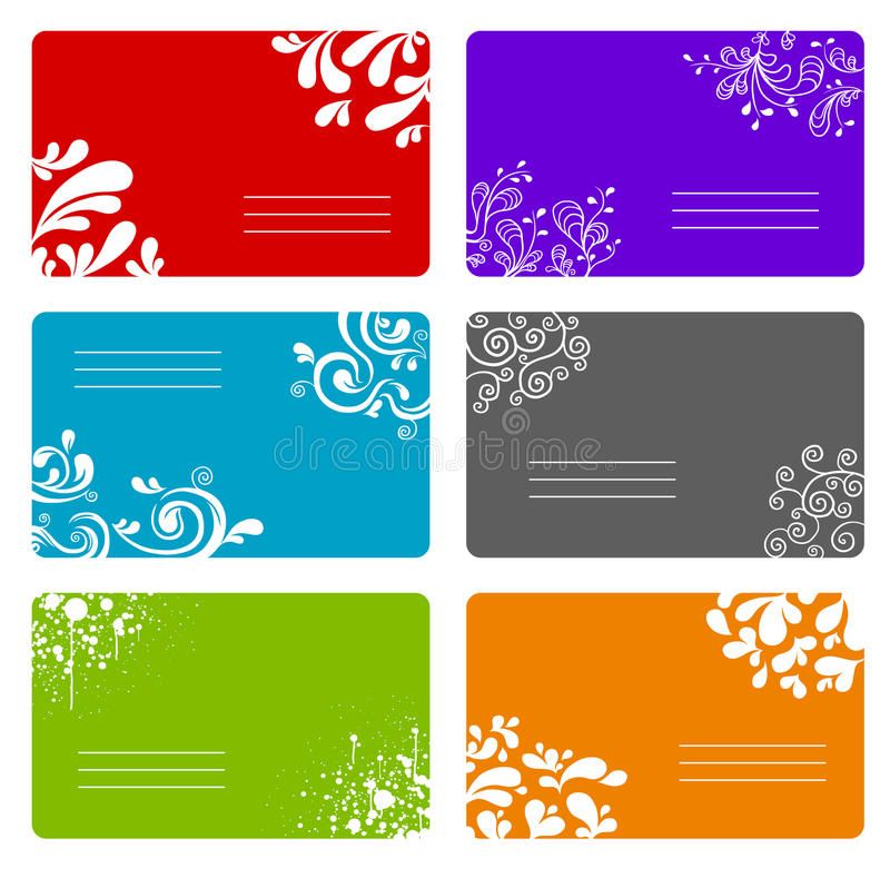 Download Colorful banners set stock vector. Image of drawing, banners - 12148668