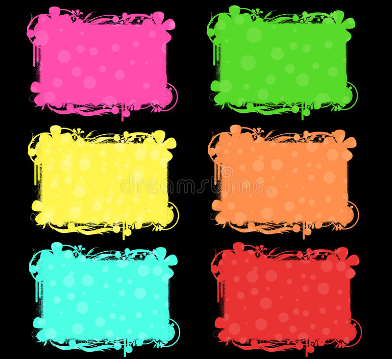Download Colorful banners set stock illustration. Image of blank - 13790410