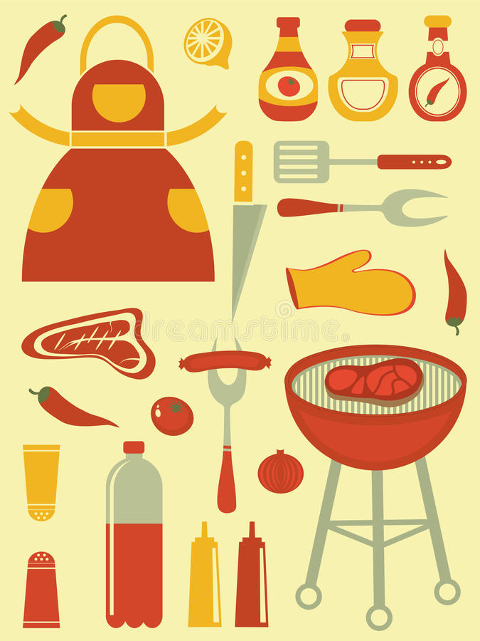 Download Barbecue Collection Royalty Free Stock Photography - Image: 29899007