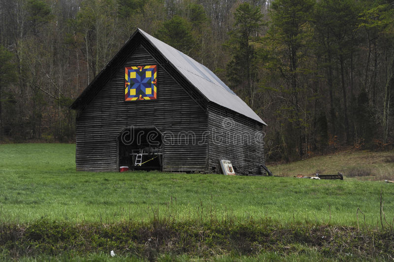Colorful Barn royalty free stock images