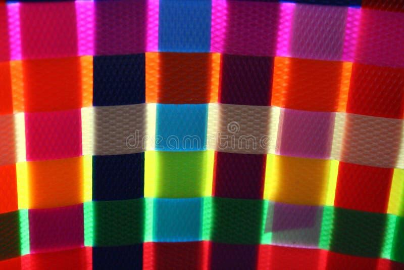 Download Colorful Basket Weaving Glow Stock Image - Image: 3065859